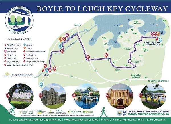 Boyle to Lough Key Cycleway